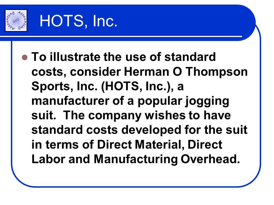 HOTS, Inc.