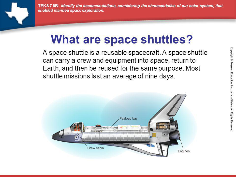 What are space shuttles