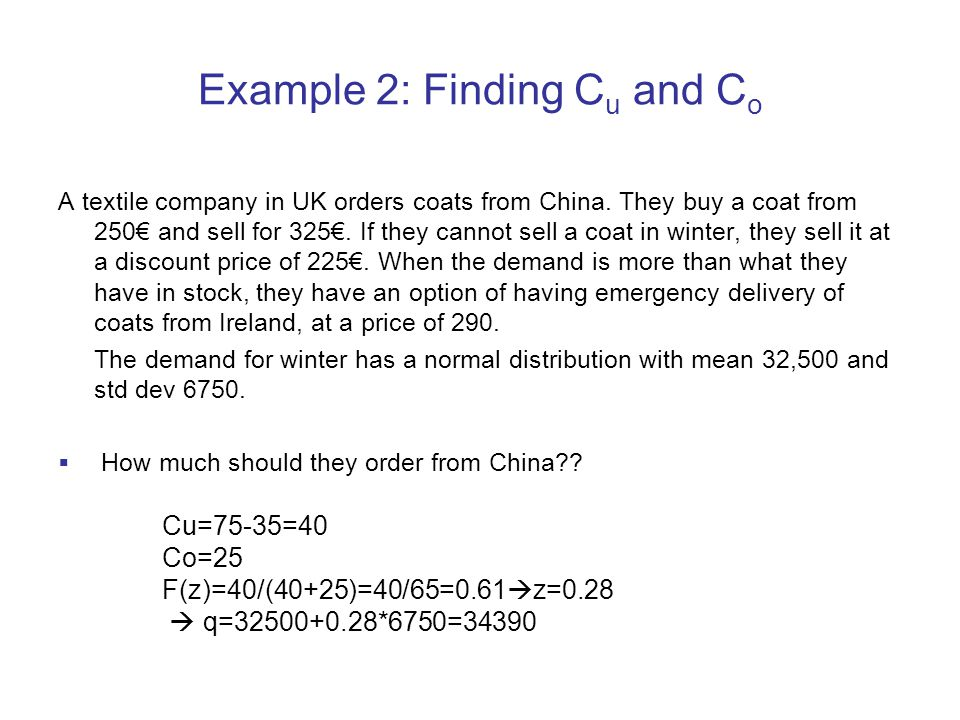 Example 2: Finding Cu and Co