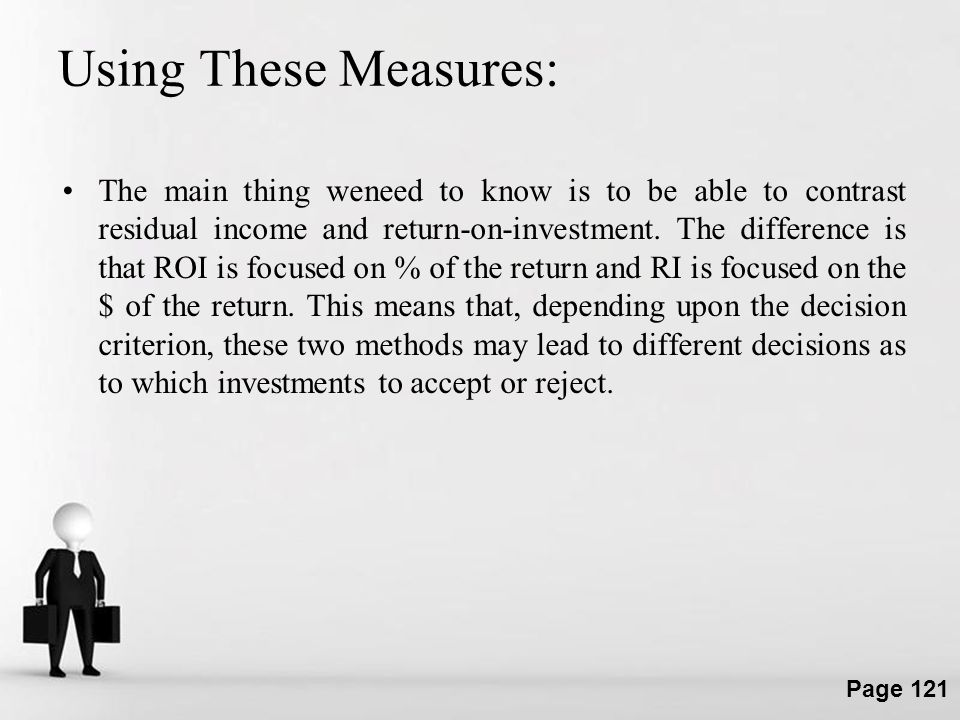 Using These Measures: