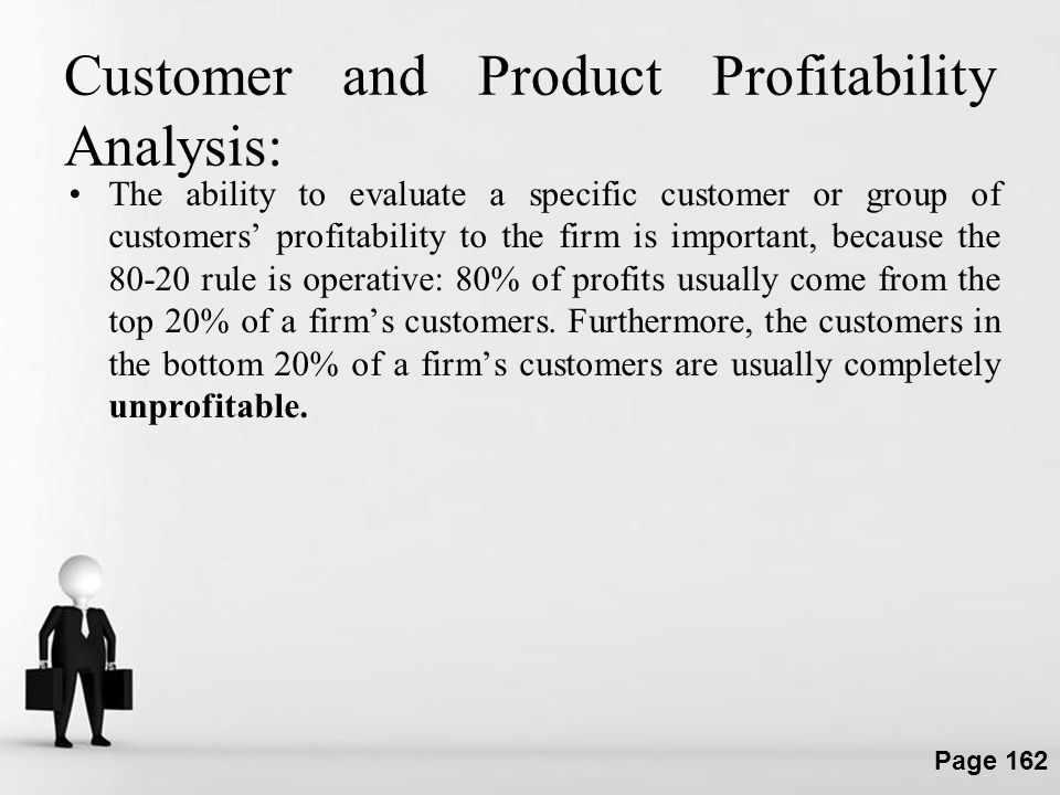 Customer and Product Profitability Analysis: