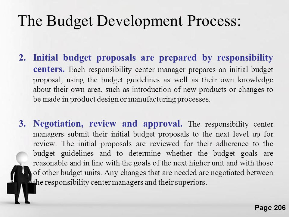 The Budget Development Process: