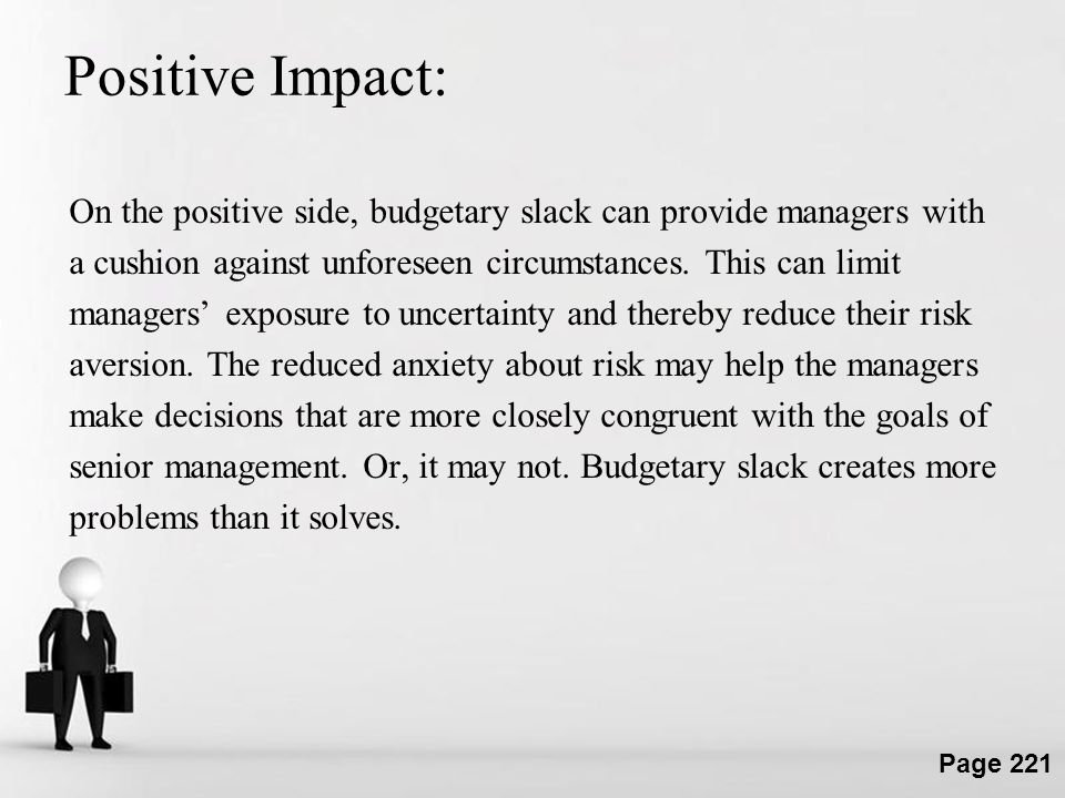 Positive Impact: