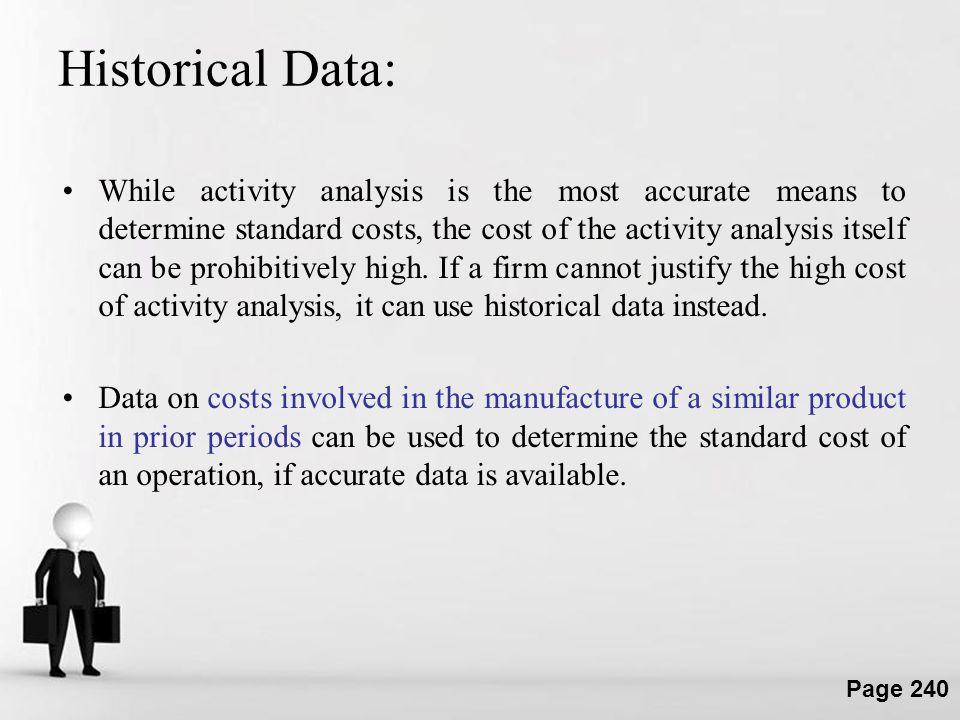 Historical Data: