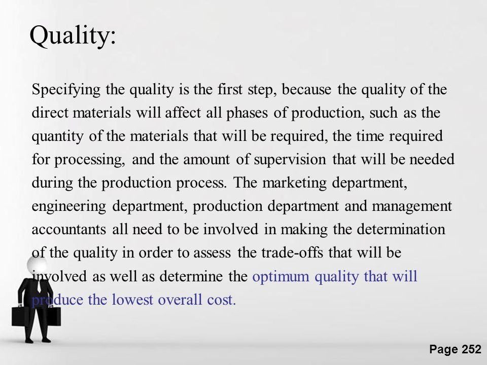 Quality: