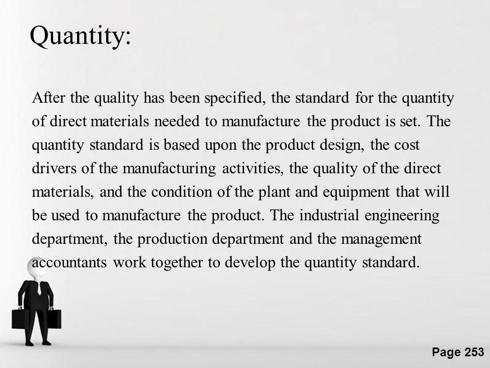 Quantity: