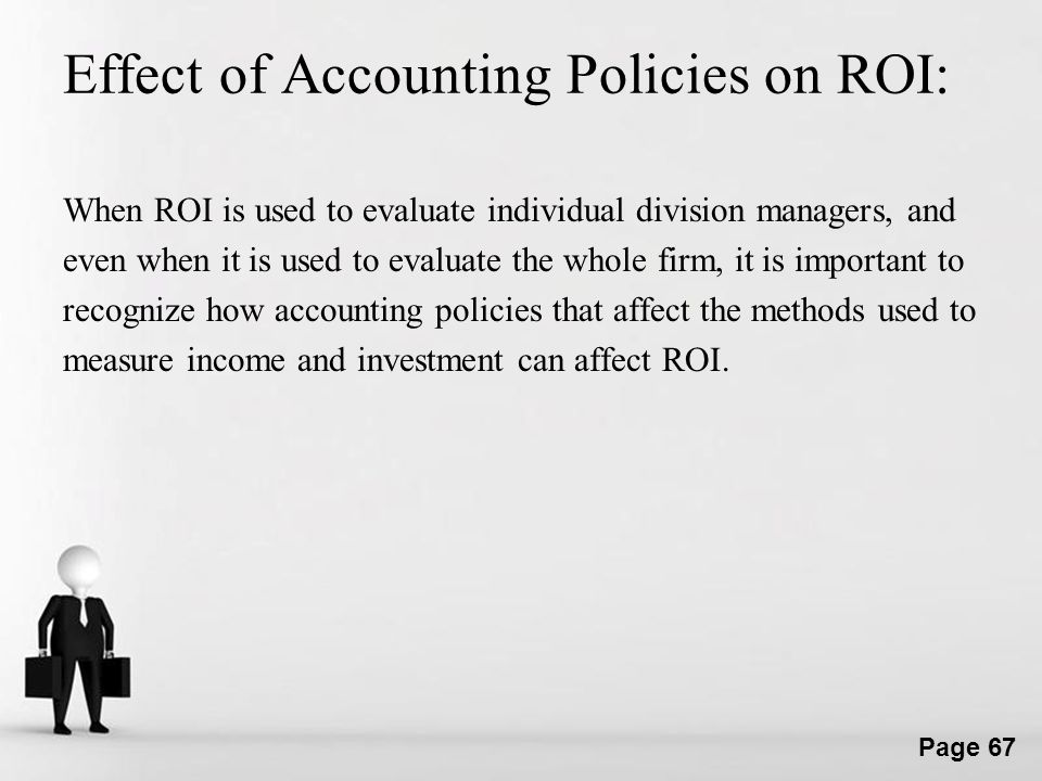 Effect of Accounting Policies on ROI: