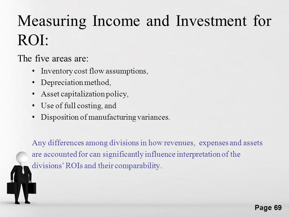 Measuring Income and Investment for ROI: