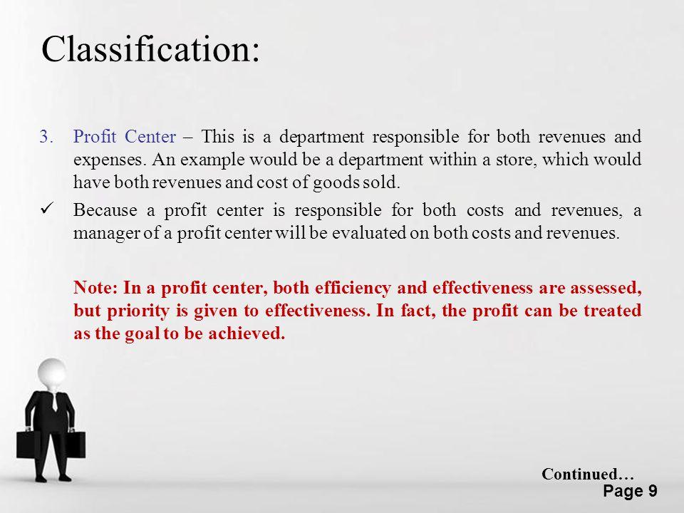 Classification: