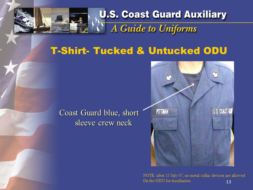 T-Shirt- Tucked & Untucked ODU