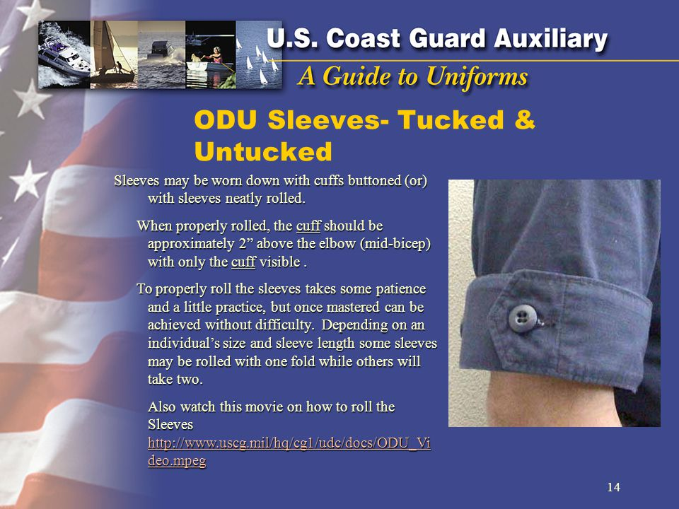 ODU Sleeves- Tucked & Untucked