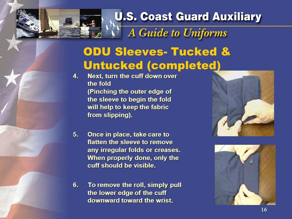 ODU Sleeves- Tucked & Untucked (completed)