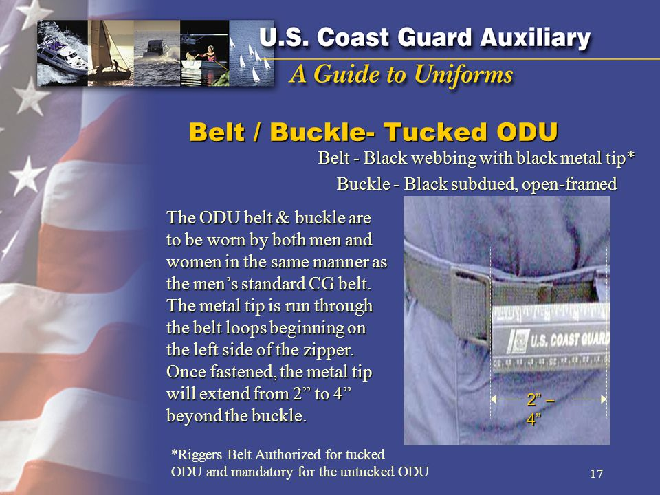 Belt / Buckle- Tucked ODU