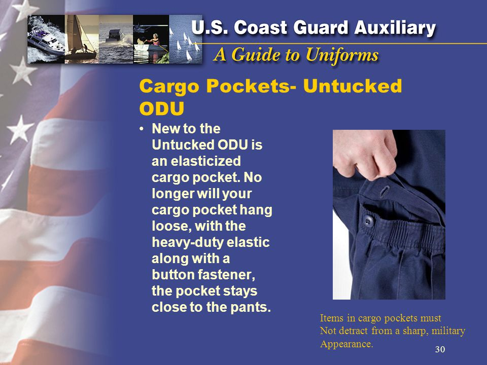 Cargo Pockets- Untucked ODU