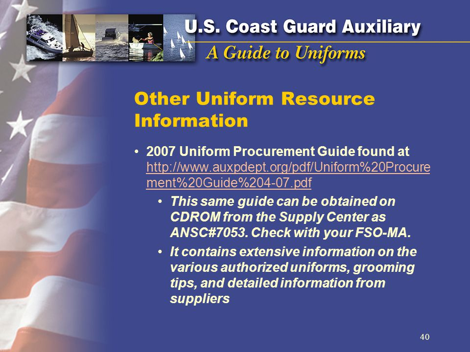 Other Uniform Resource Information