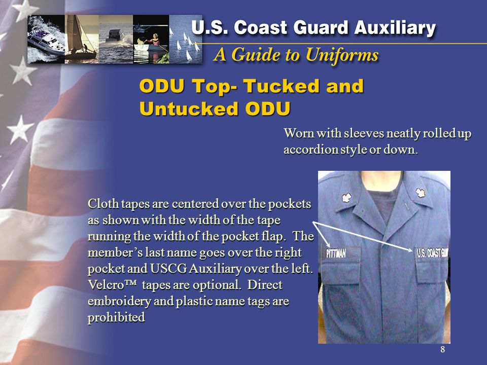 ODU Top- Tucked and Untucked ODU