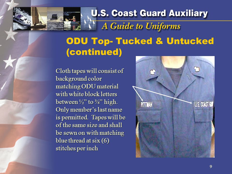 ODU Top- Tucked & Untucked (continued)