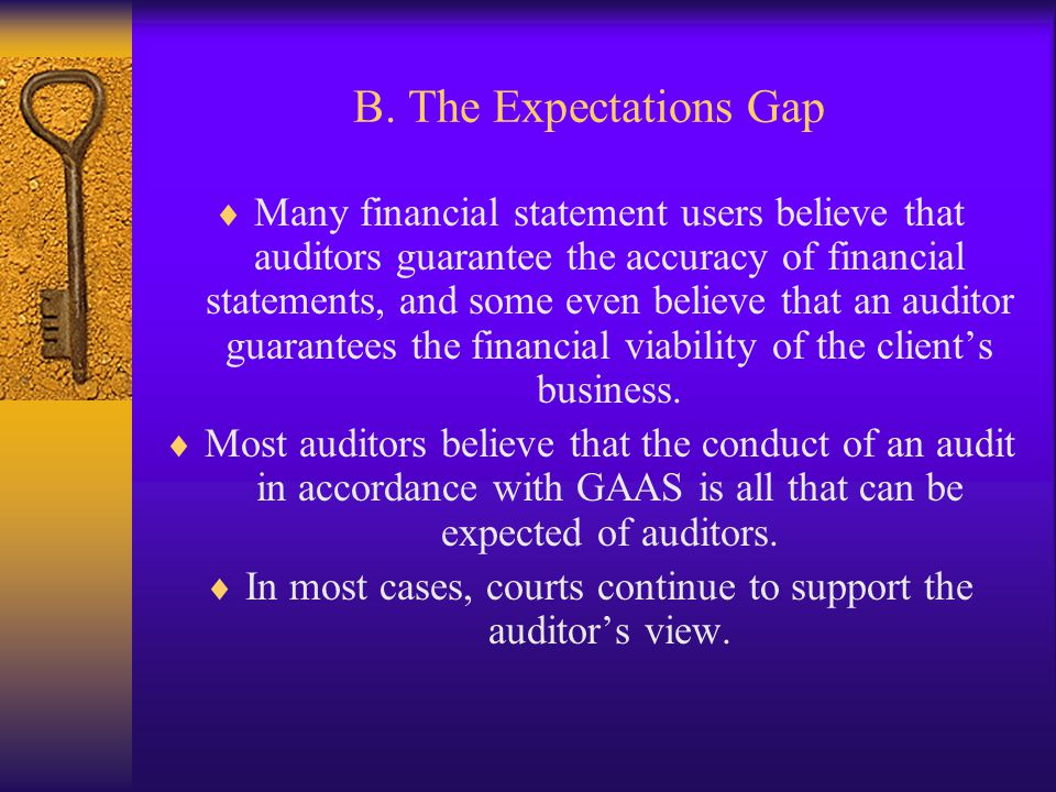 In most cases, courts continue to support the auditor's view.