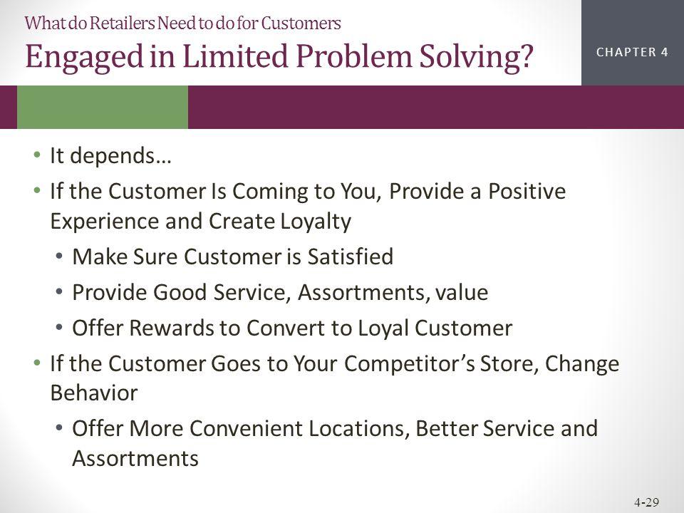 Make Sure Customer is Satisfied