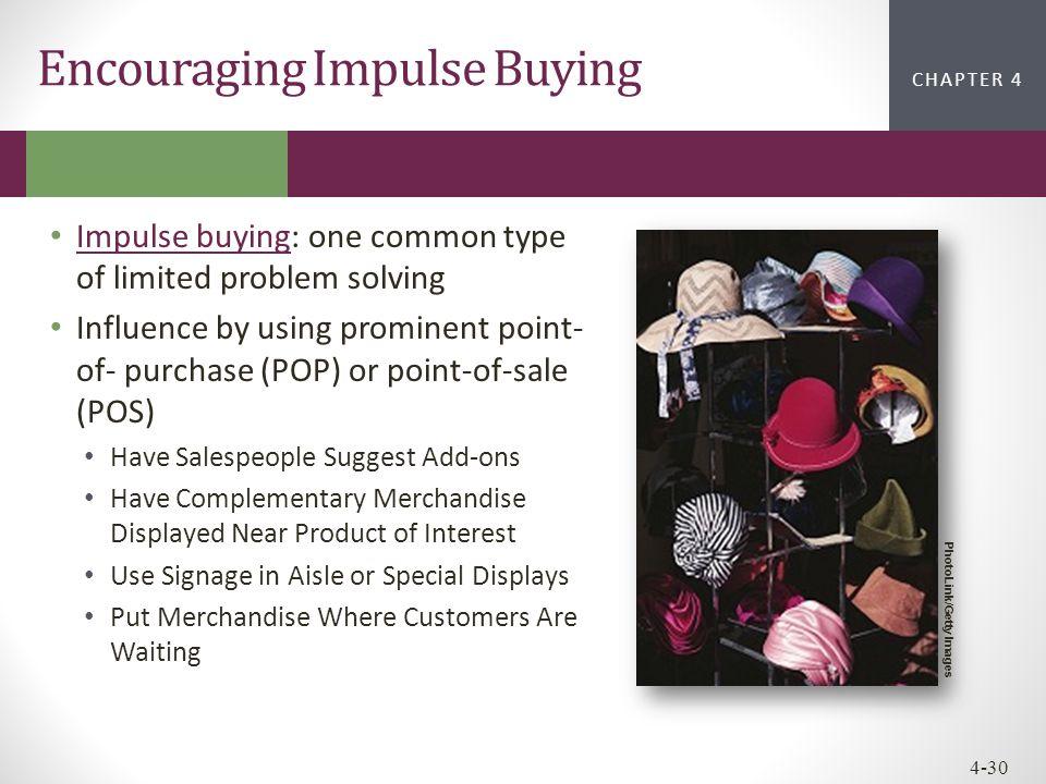 Encouraging Impulse Buying