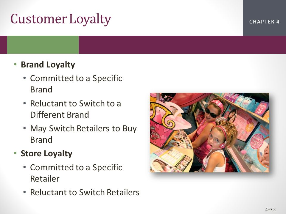 Customer Loyalty Brand Loyalty Committed to a Specific Brand