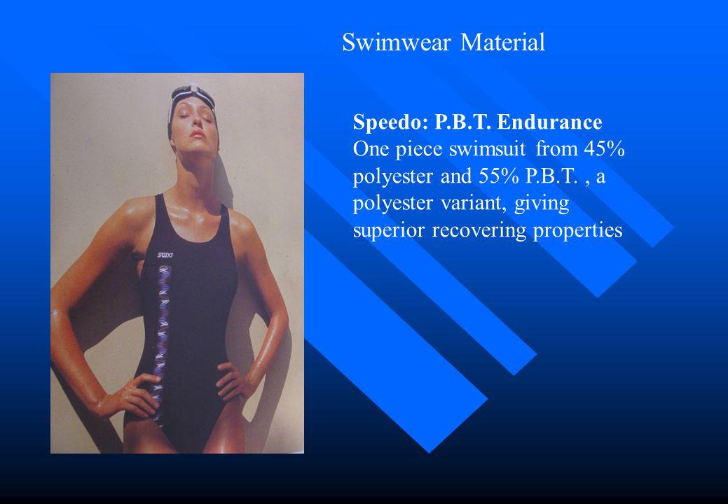 Swimwear Material Speedo: P.B.T. Endurance