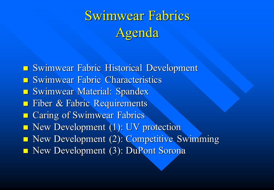 Swimwear Fabrics Agenda