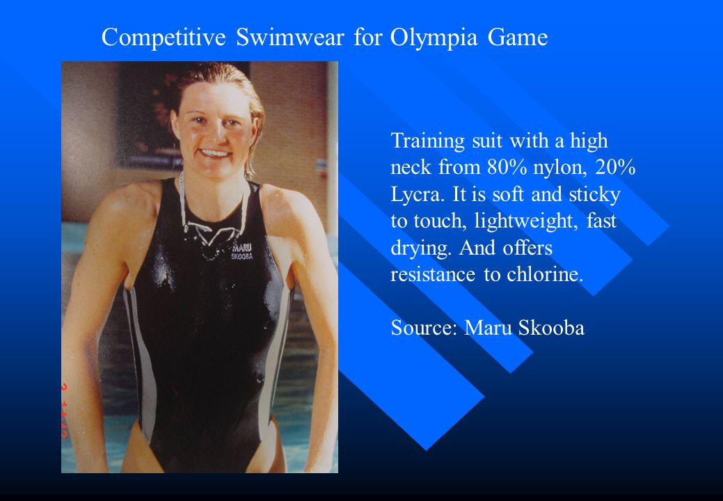 Competitive Swimwear for Olympia Game