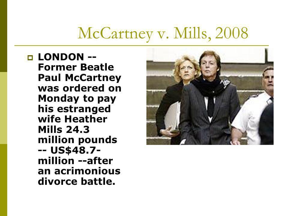 McCartney v. Mills, 2008