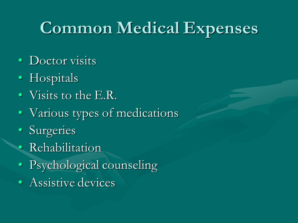 Common Medical Expenses