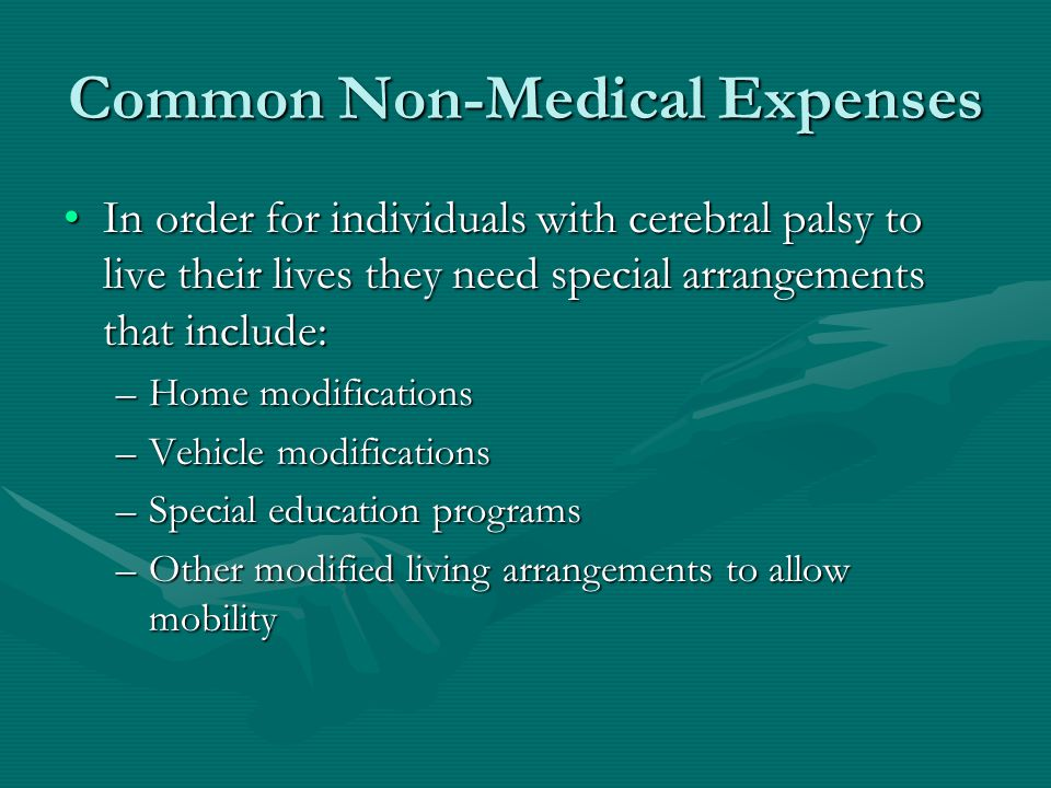 Common Non-Medical Expenses