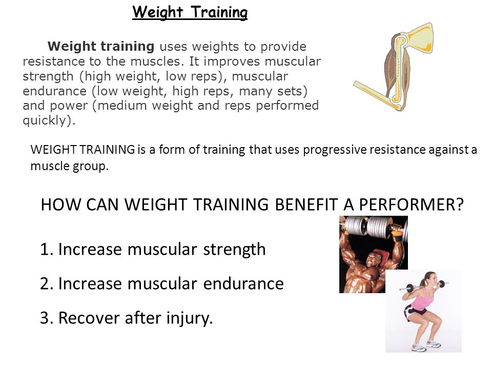 HOW CAN WEIGHT TRAINING BENEFIT A PERFORMER