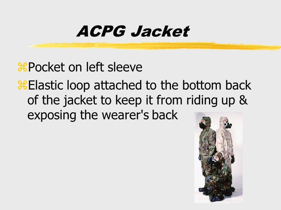 ACPG Jacket Pocket on left sleeve