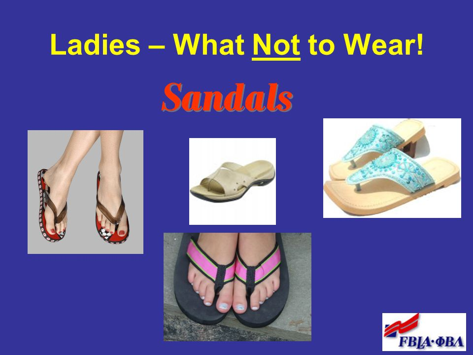 Ladies – What Not to Wear!