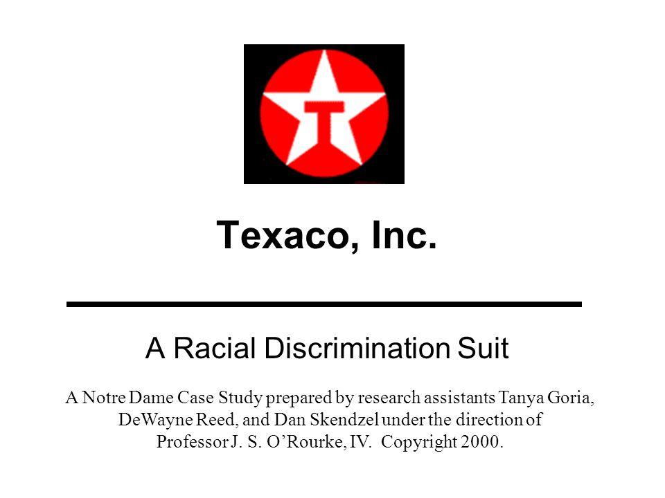 A Racial Discrimination Suit