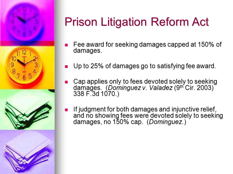 Prison Litigation Reform Act