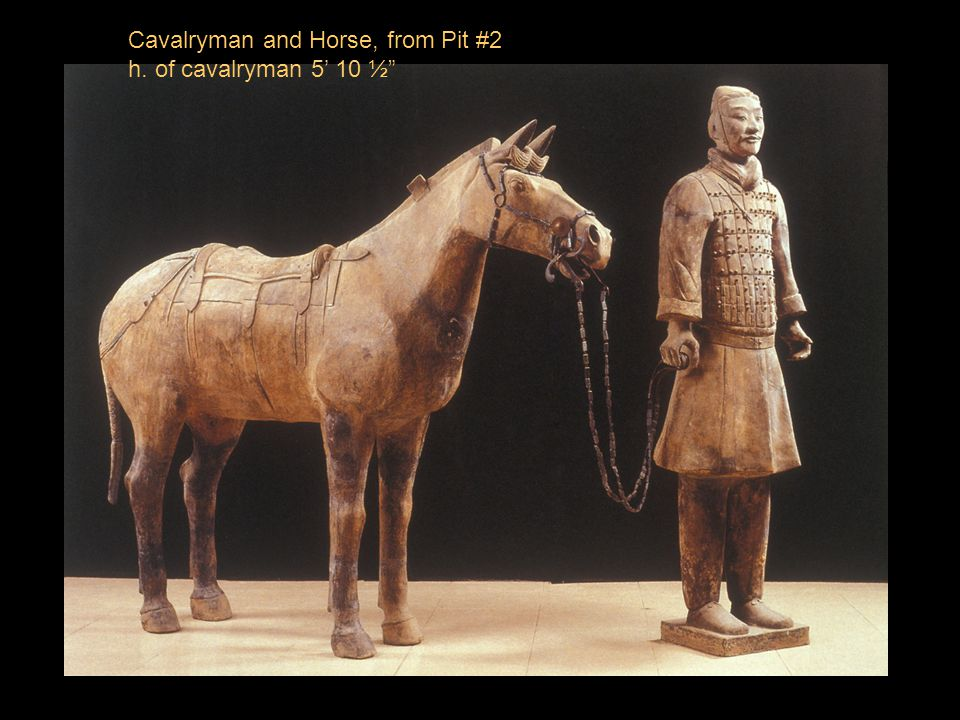 Cavalryman and Horse, from Pit #2