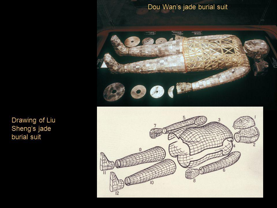 Dou Wan's jade burial suit