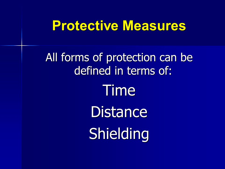 All forms of protection can be defined in terms of: