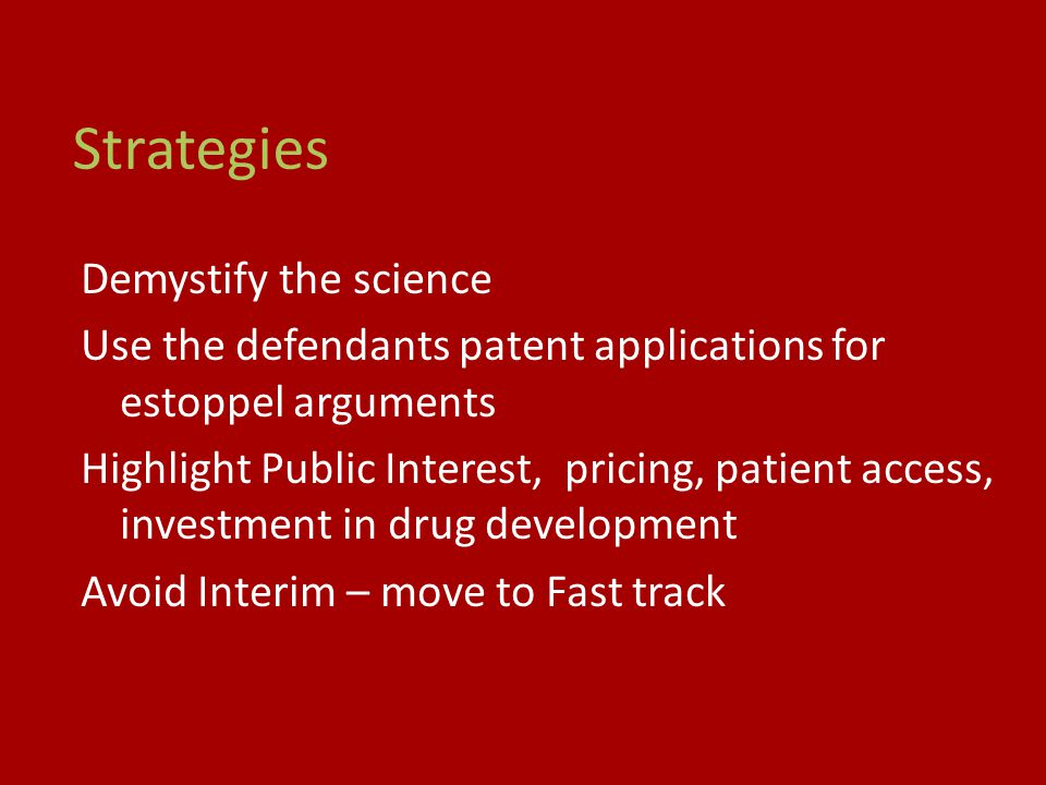 Strategies Demystify the science