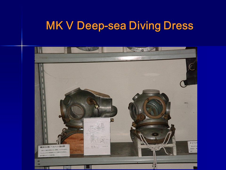 MK V Deep-sea Diving Dress