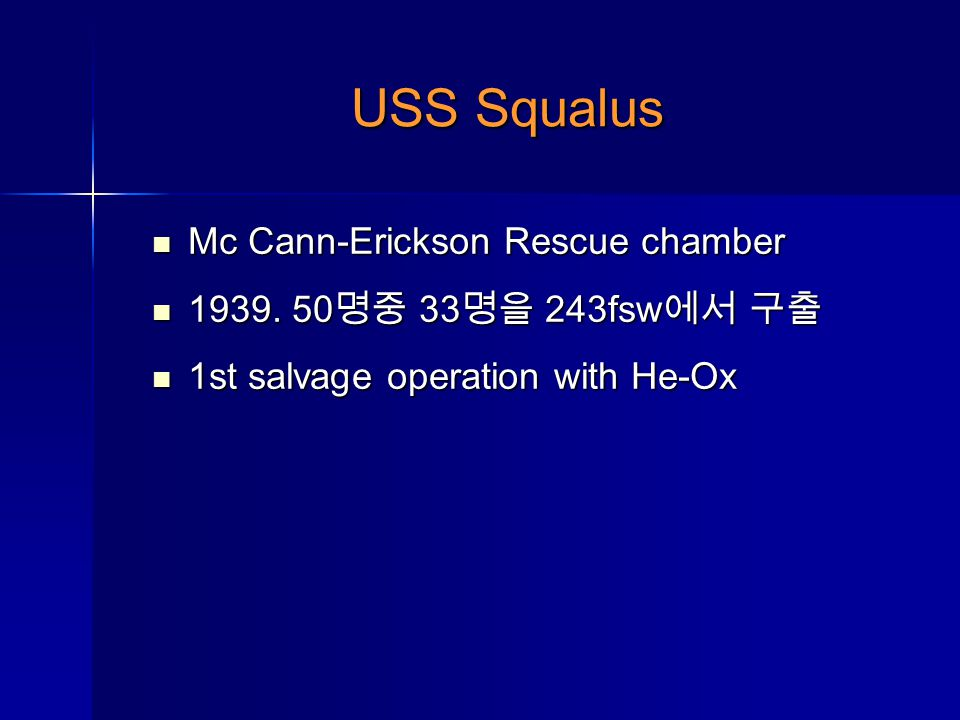 USS Squalus Mc Cann-Erickson Rescue chamber