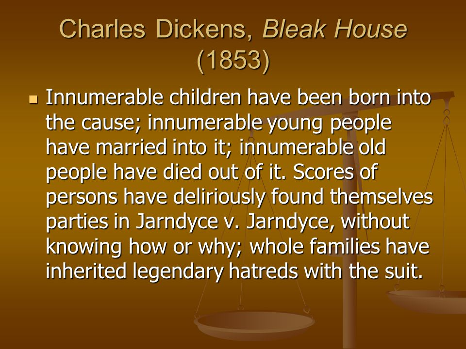 Charles Dickens, Bleak House (1853)