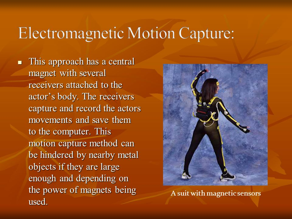 Electromagnetic Motion Capture: