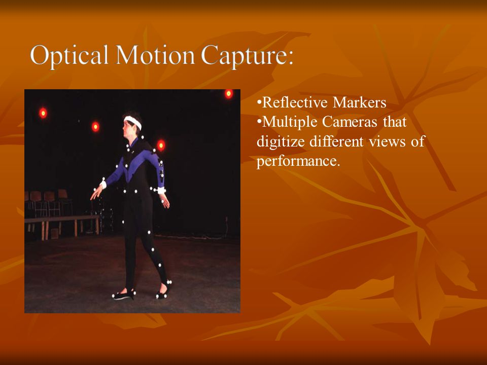 Optical Motion Capture: