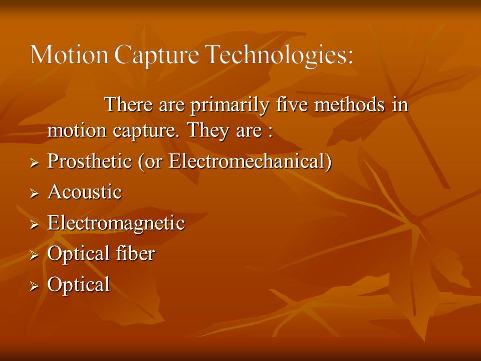 Motion Capture Technologies: