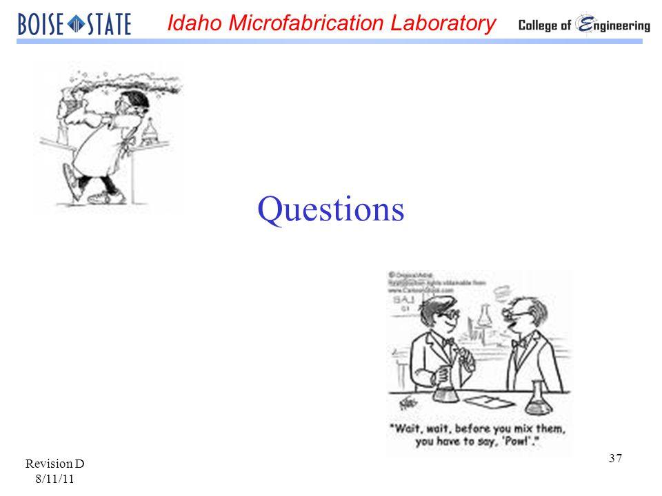 Questions Revision D 8/11/11