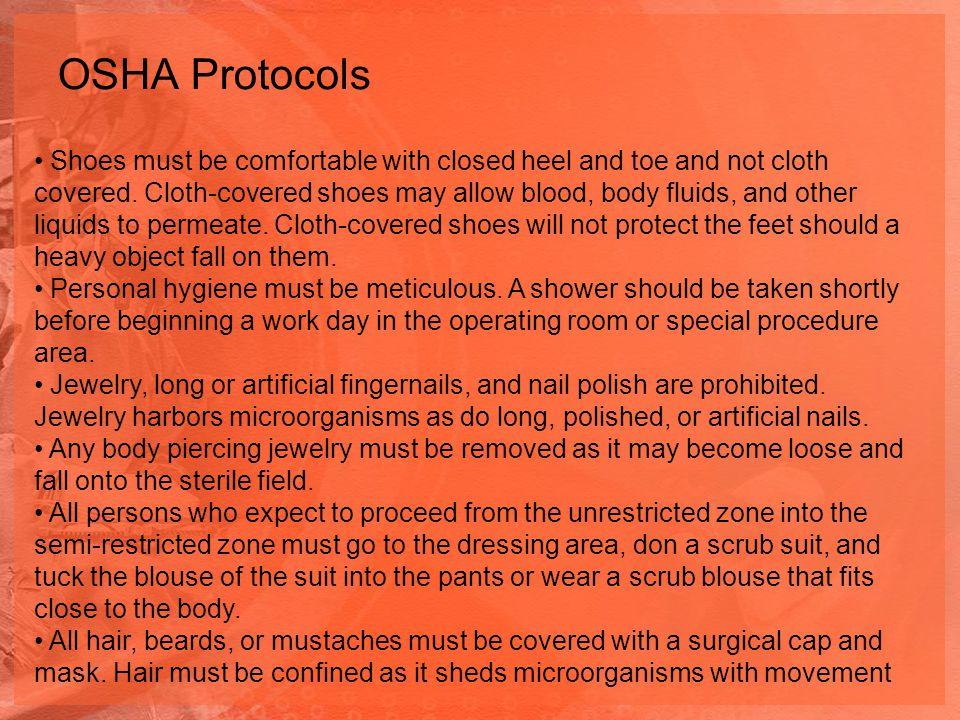 OSHA Protocols