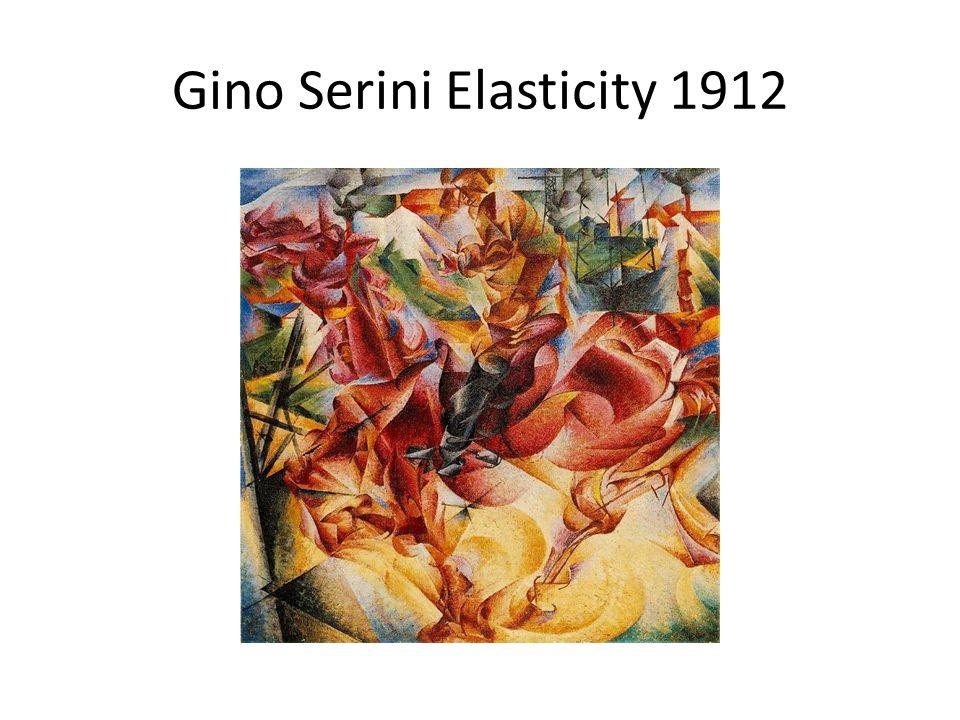 Gino Serini Elasticity 1912