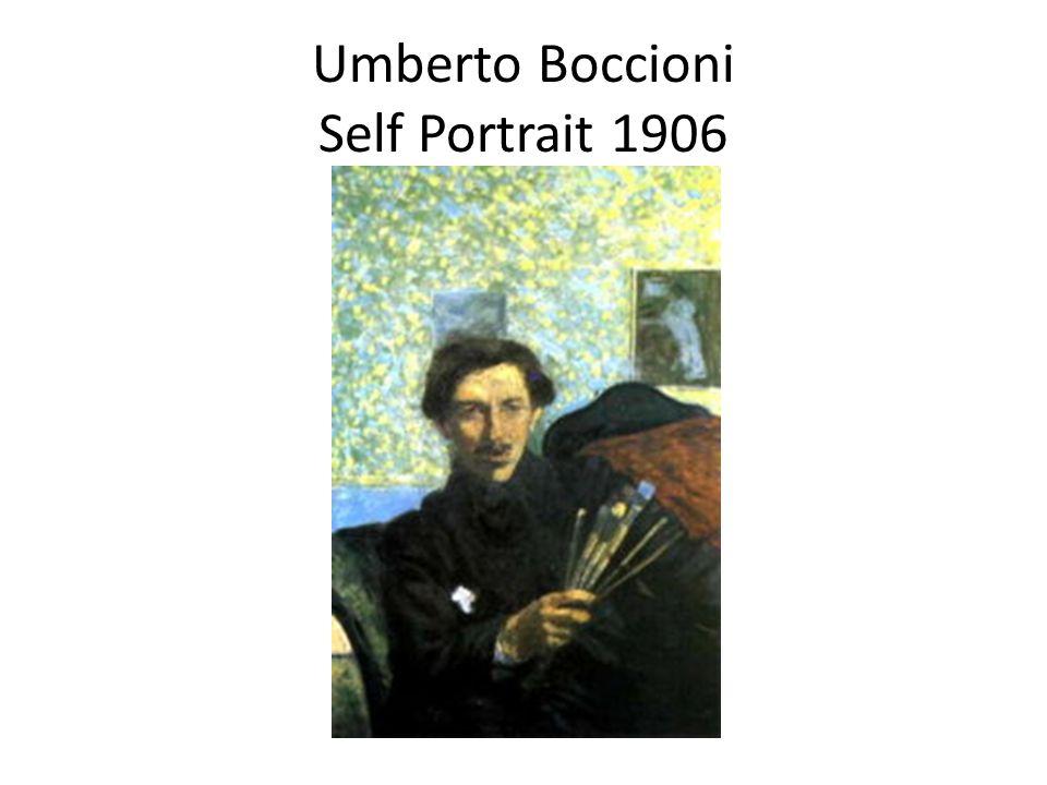 Umberto Boccioni Self Portrait 1906
